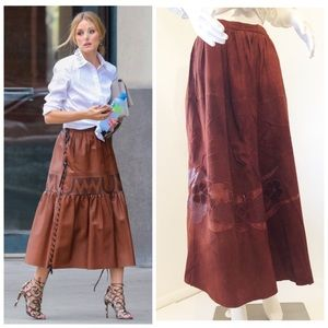 Get the look! Vintage GRS Suede Leather w/ Pockets